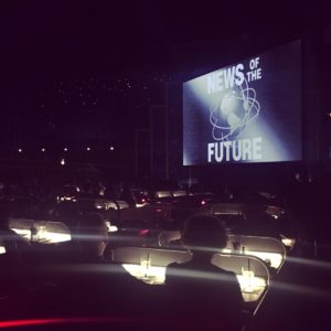 Sci-Fi Dine In Theater Restaurant